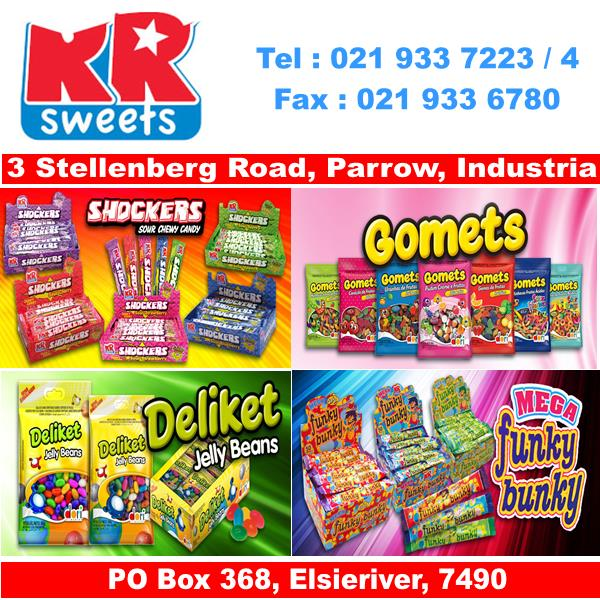 Sweet Manufacturers/Distributors - SA Online Directories